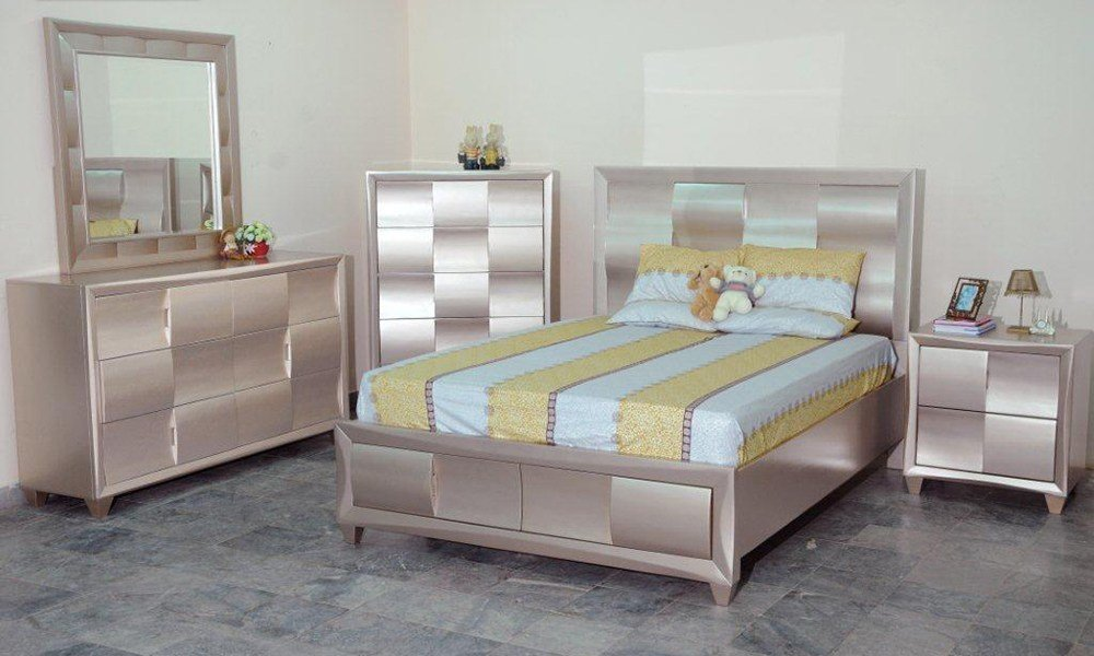 Best Bn Br80 Best Sell Silver Bedroom Furniture Set Baongoc With Pictures