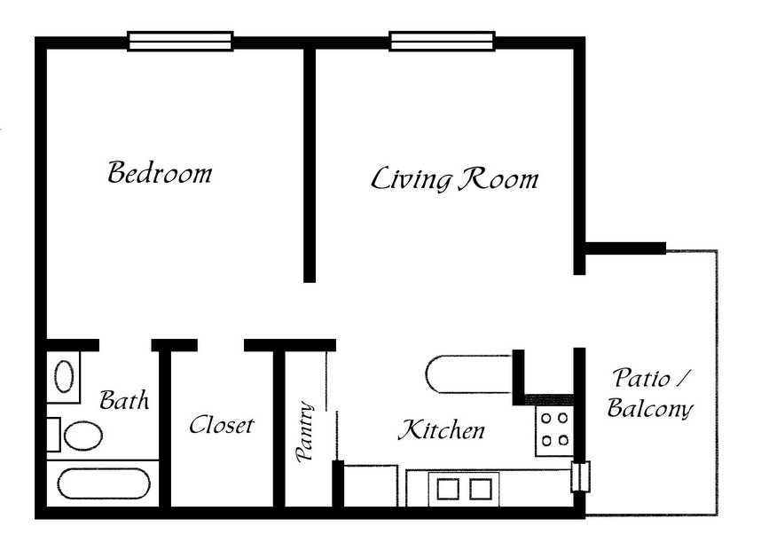 Best One Bedroom House Plans For You With Pictures