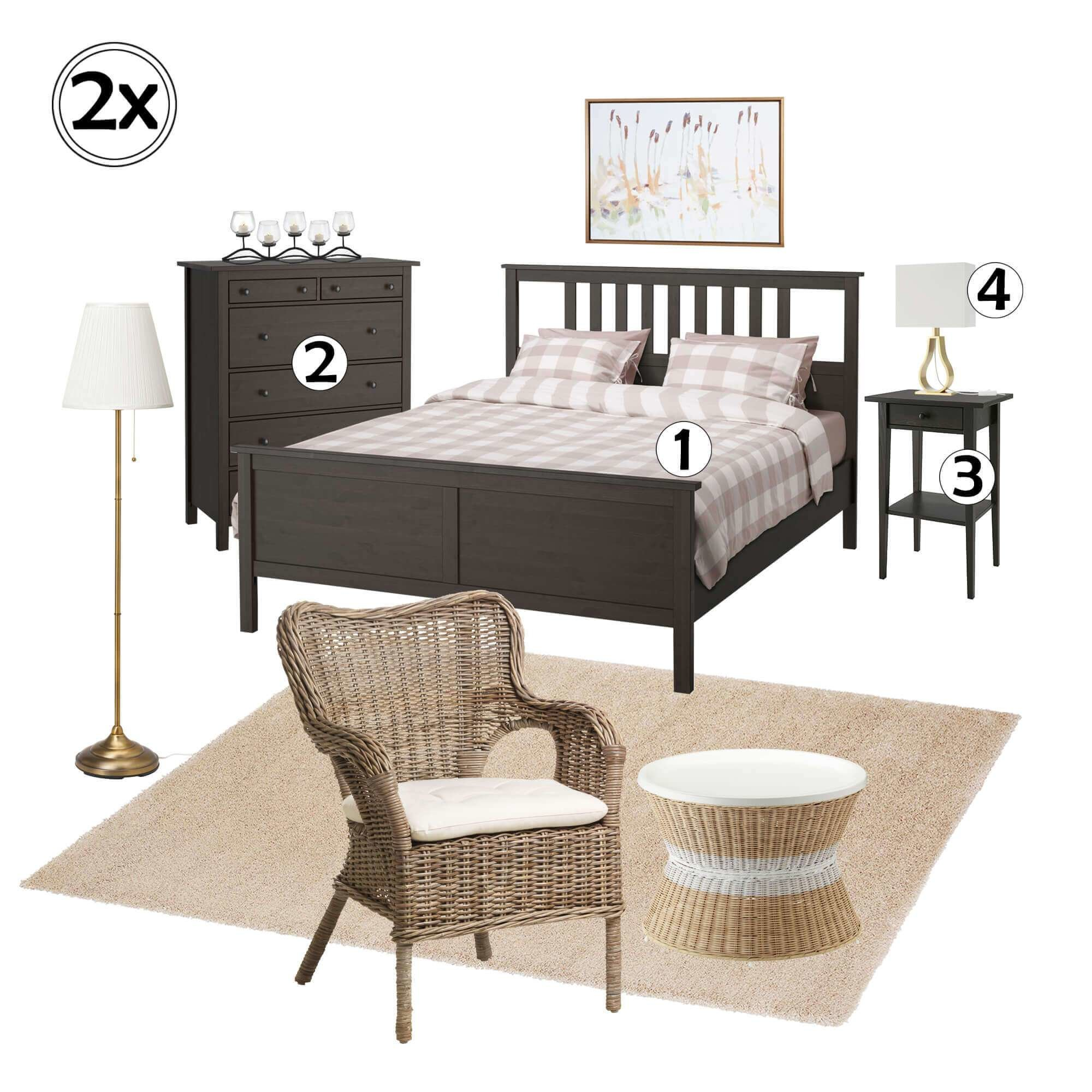 Best 2 Bedroom Furniture Set 1 Rent Pronto Furniture For With Pictures