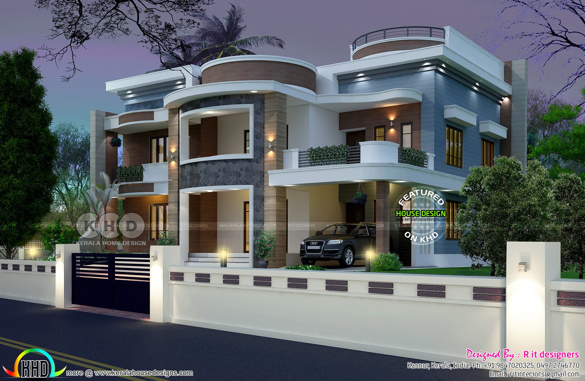 Best Astounding 6 Bedroom House Plan Kerala Home Design And With Pictures