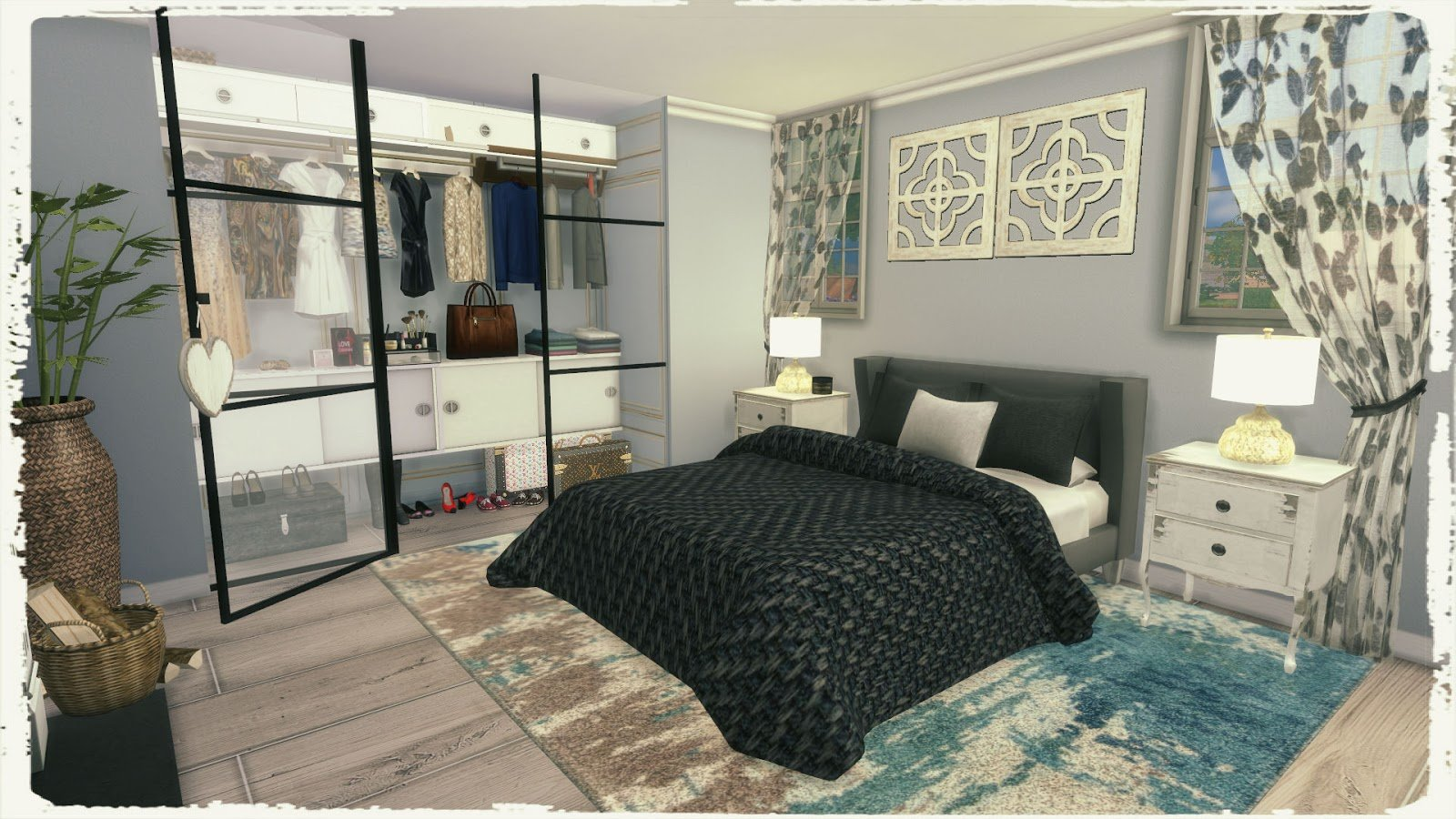 Best Sims 4 Nostalgic Bedroom Build Decoration Dinha With Pictures
