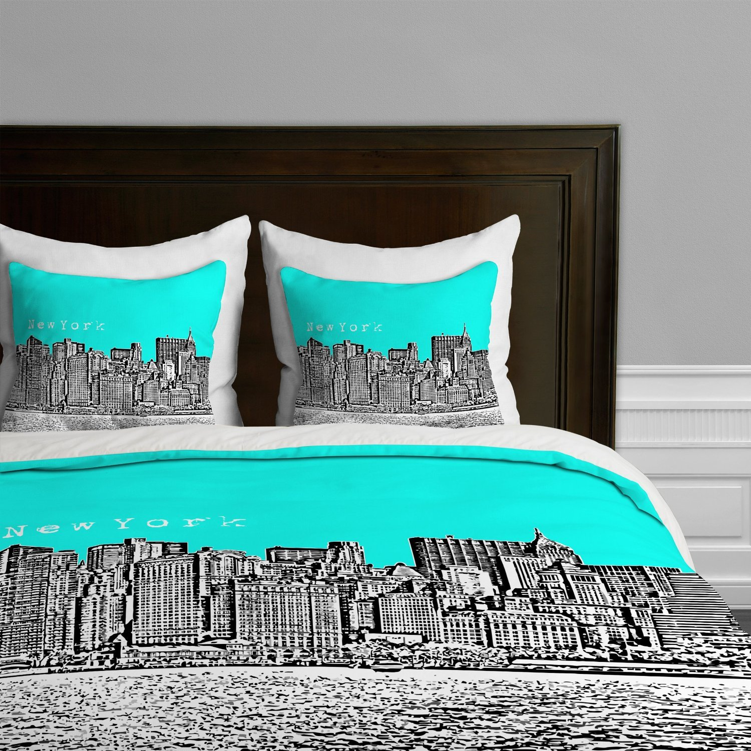 Best New York City Themed Skyline Comforters Sets Bedding And With Pictures