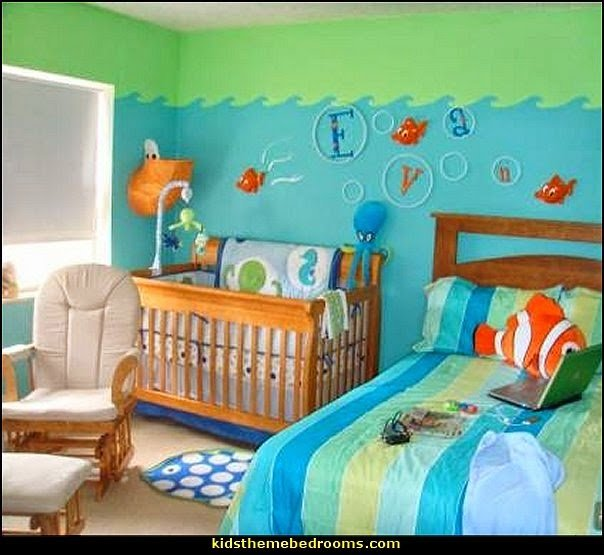 Best Decorating Theme Bedrooms Maries Manor Under The Sea With Pictures