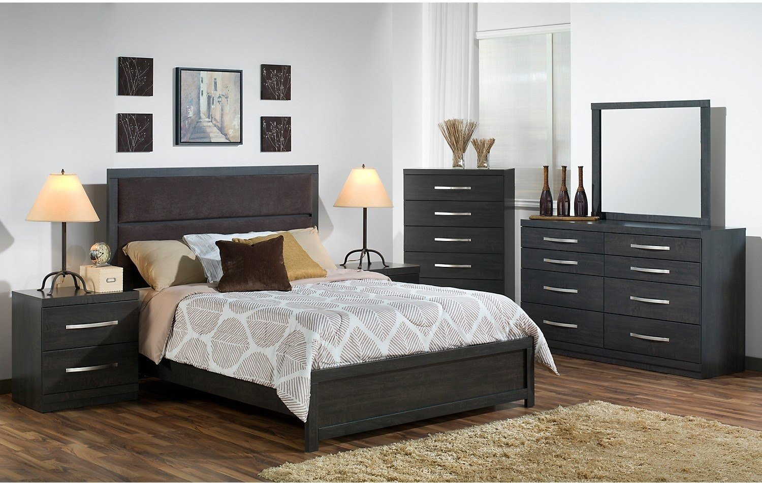 Best Willowdale 8 Piece Queen Bedroom Package The Brick With Pictures