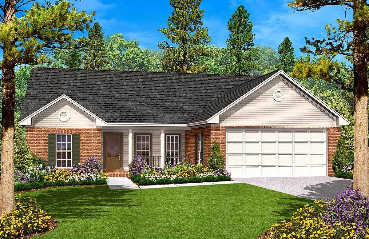 Best Split Bedroom Ranch Home Plan 11701Hz Architectural With Pictures