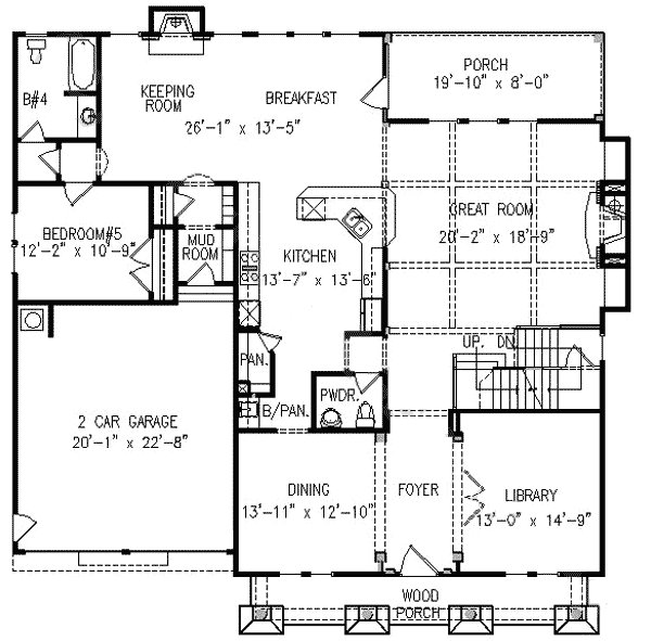 Best Five Bedrooms With Bonus Space 15831Ge Architectural With Pictures