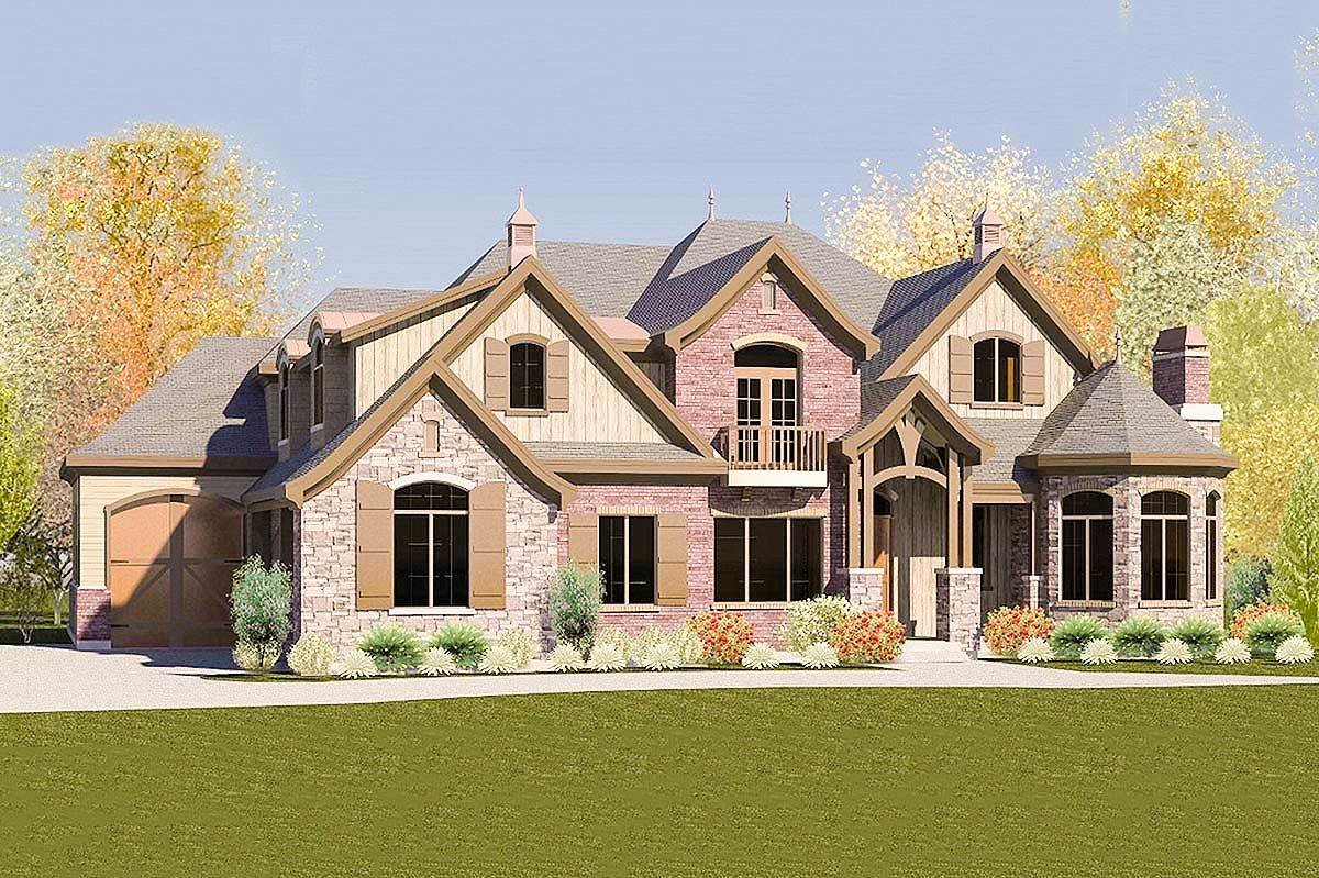 Best Eight Bedroom European House Plan 290007Iy With Pictures