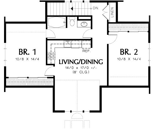Best Two Bedroom Guest Suite Over 3 Car Plan 69395Am 2Nd With Pictures