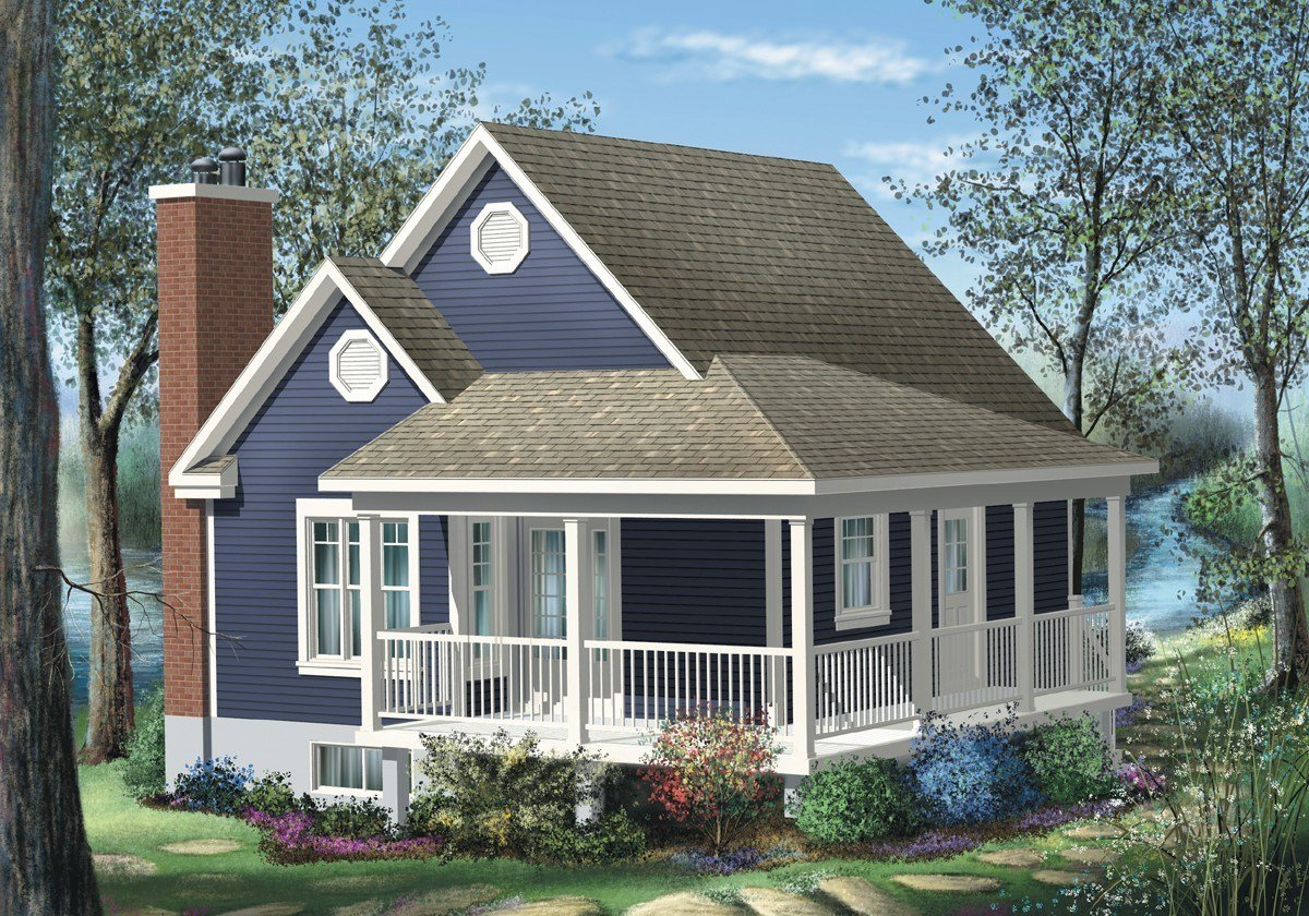 Best Simple One Bedroom Cottage 80555Pm Architectural With Pictures
