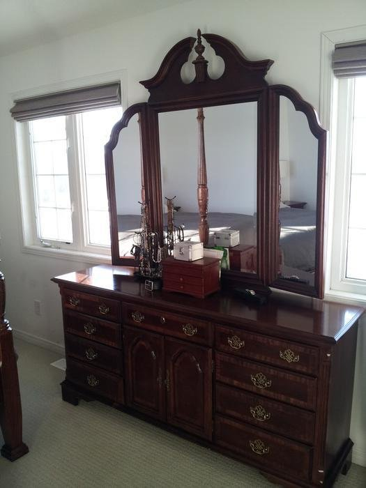 Best 4 Poster Rice Bed Bedroom Set For Sale Nepean Ottawa With Pictures