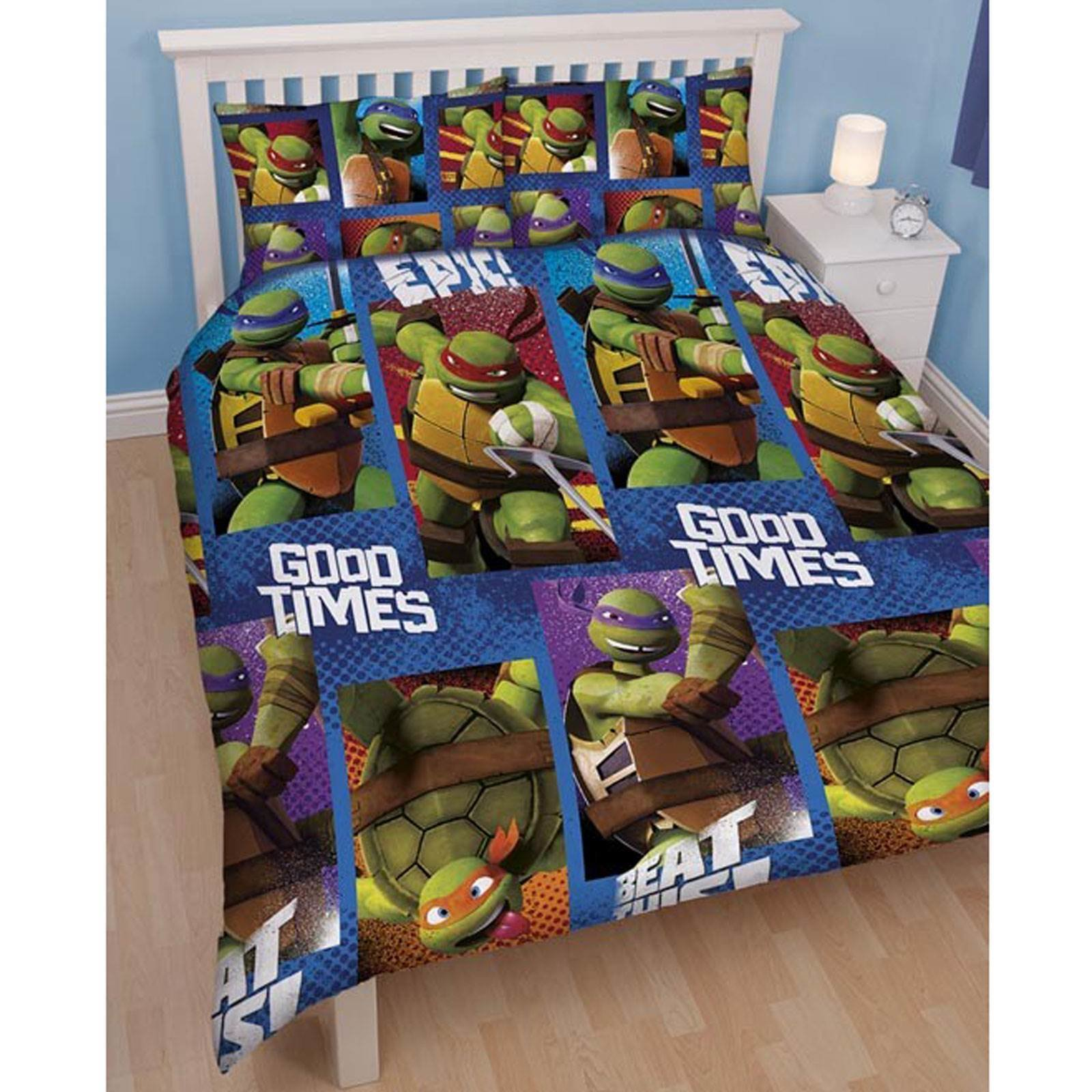 Best Teenage Mutant Ninja Turtles Bedding Single Duvet Cover With Pictures