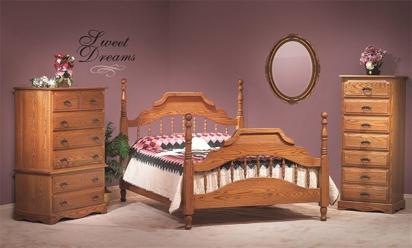 Best American Made Oak Bedroom Furniture With Pictures