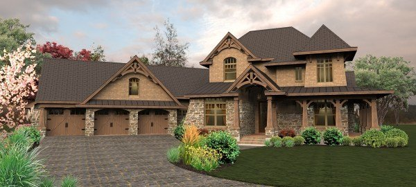 Best Craftsman House Plan With 4 Bedrooms And 4 5 Baths Plan 4440 With Pictures