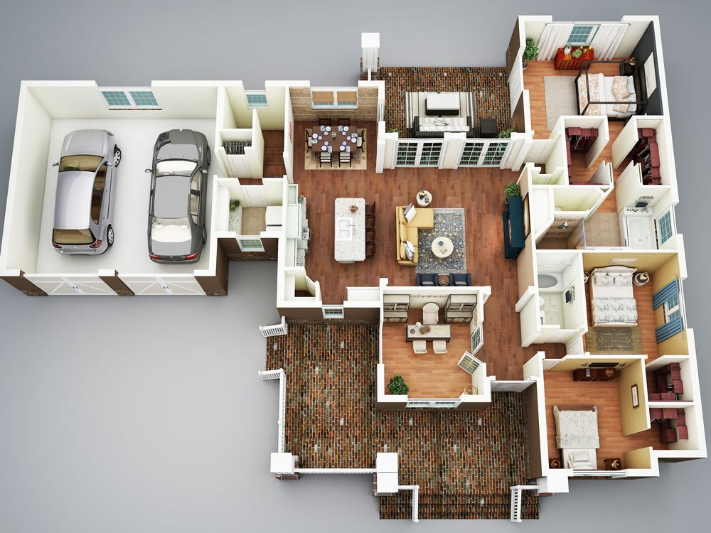 Best Cottage House Plan With 3 Bedrooms And 2 5 Baths Plan 5517 With Pictures