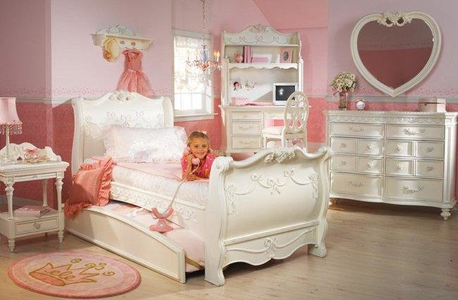 Best Disney Princess Girls 8 Piece Twin Sleigh From Funiture1Inc On With Pictures