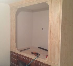 Best Old Kitchen Cabinets Into Built In Bed Hometalk With Pictures