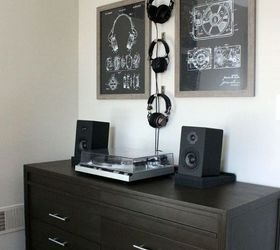 Best Hipster Bedroom Midcentury Dresser Retro Stereo With Pictures