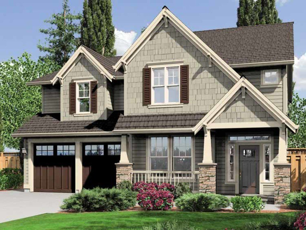 Best Craftsman Style House Plan 4 Beds 2 5 Baths 2470 Sq Ft Plan 966 26 Dreamhomesource Com With Pictures