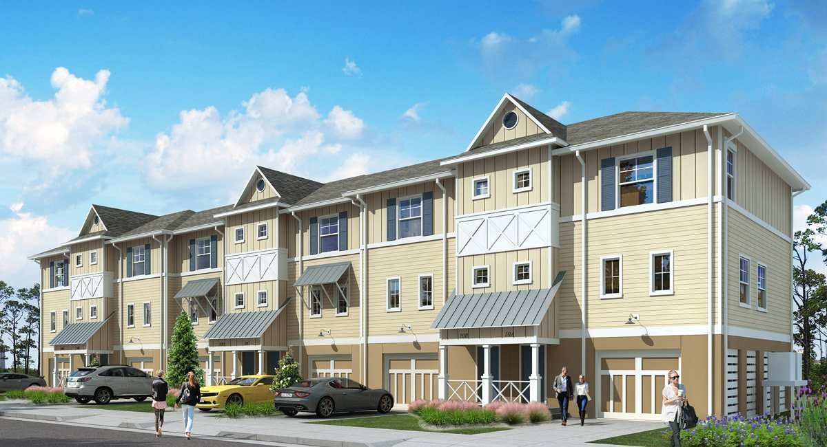 Best 2Br Townhome New Home Plan In Lost Key Resort Townhomes With Pictures