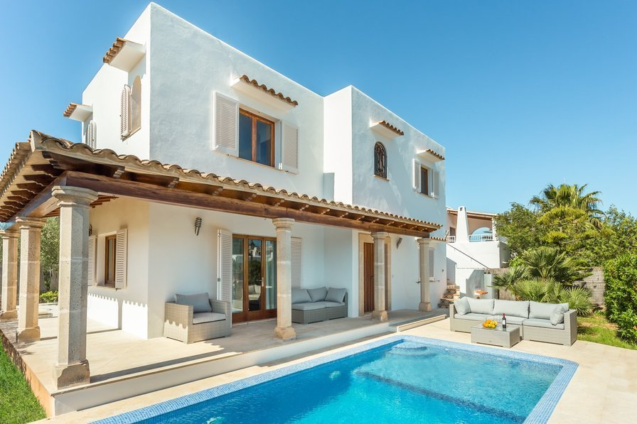 Best Villa To Rent In Cala D Or Majorca With Private Pool 188091 With Pictures