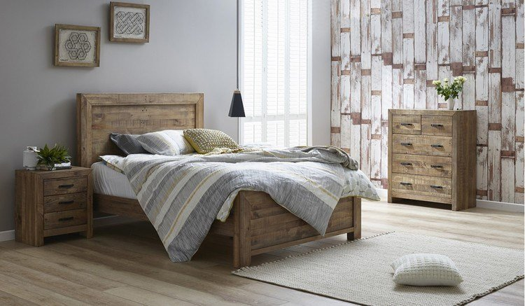 Best Rustic Queen Tallboy Bedroom Suite Focus On Furniture With Pictures