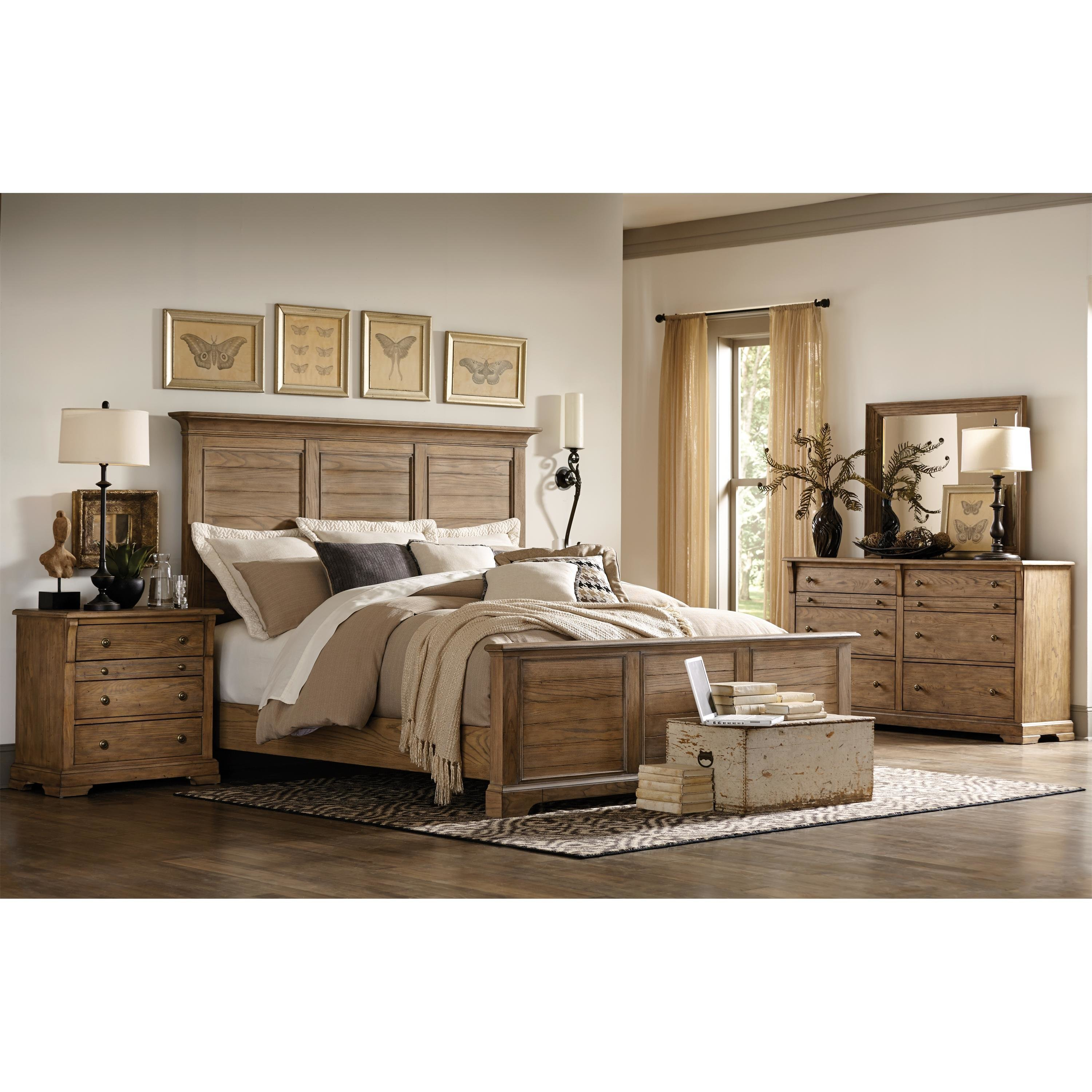Best Riverside Furniture Sherborne Panel Customizable Bedroom With Pictures