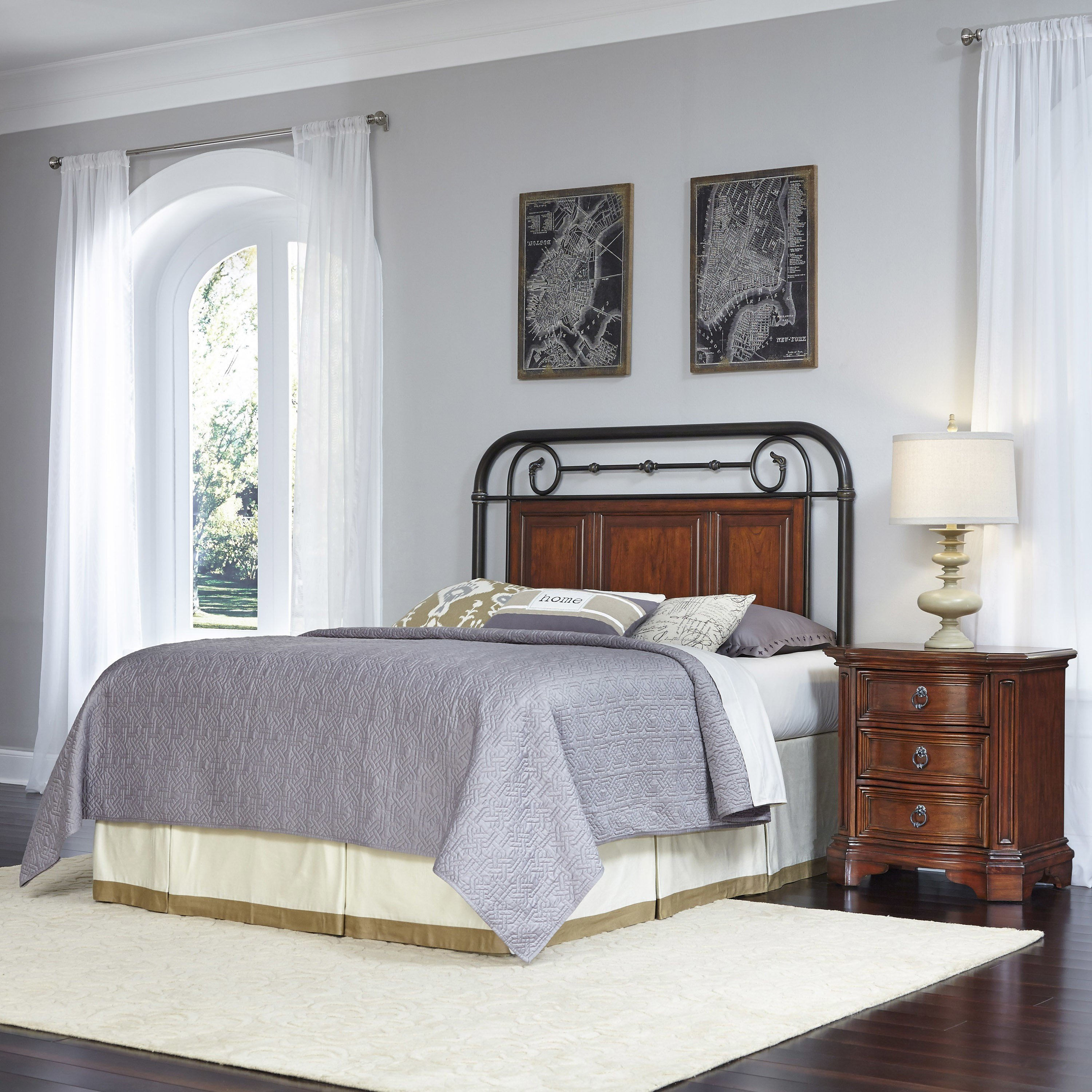 Best Home Styles Richmond Hill Panel 2 Piece Bedroom Set Wayfair With Pictures