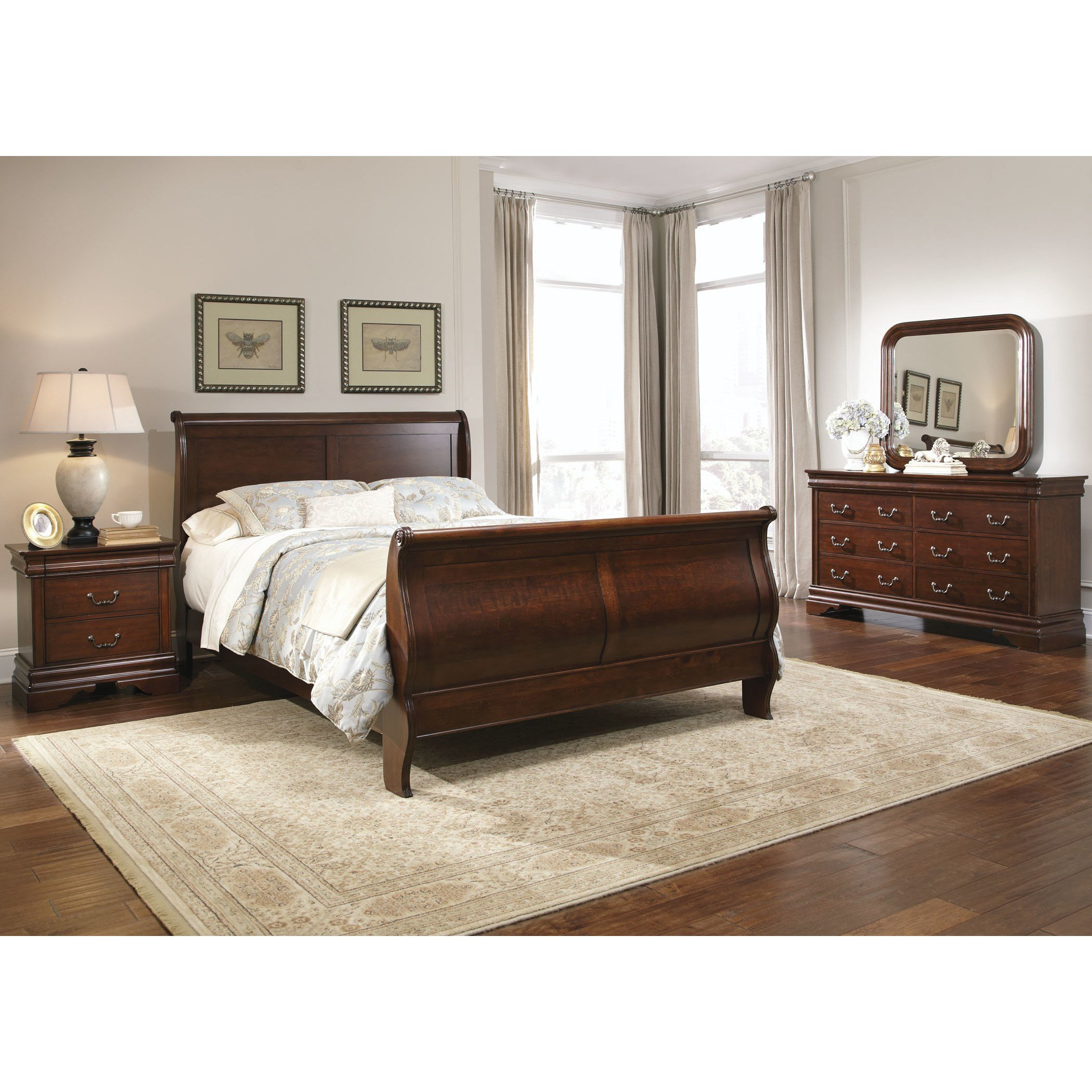 Best Liberty Furniture Carriage Court Sleigh Customizable With Pictures