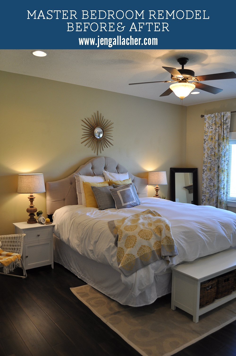 Best Master Bedroom Remodel Before And After Jen Gallacher With Pictures