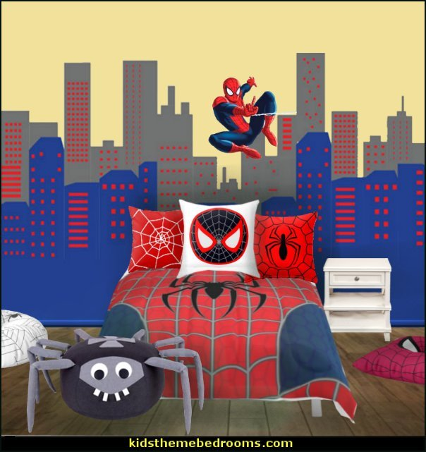 Best Decorating Theme Bedrooms Maries Manor Spiderman With Pictures