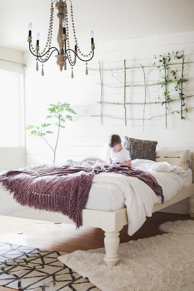 Best Vintage Whites Blog Vintage Modern Bedroom Makeover With Cocoon By Sealy A Giveaway With Pictures