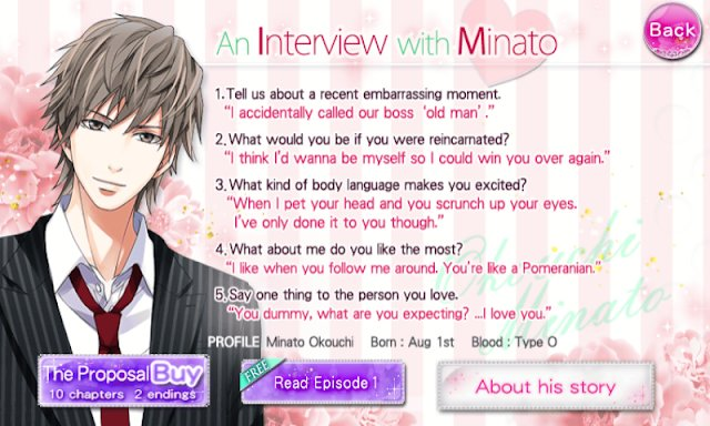 Best Otome Otaku Girl Our Two Bedroom Story Character Interview With Pictures