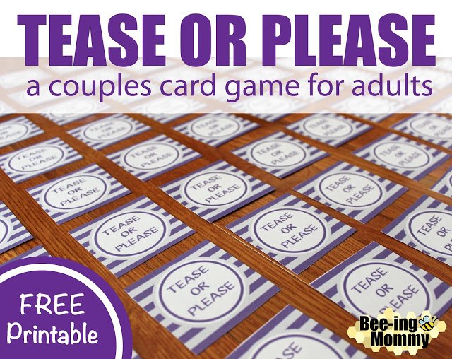 Best Tease Or Please A Couples Card Game For Adults With Pictures