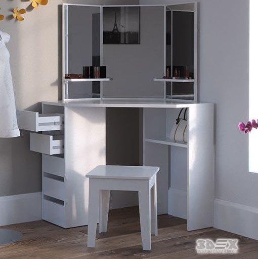 Best Latest Corner Dressing Table Designs For Small Bedroom 2019 Interiors With Pictures