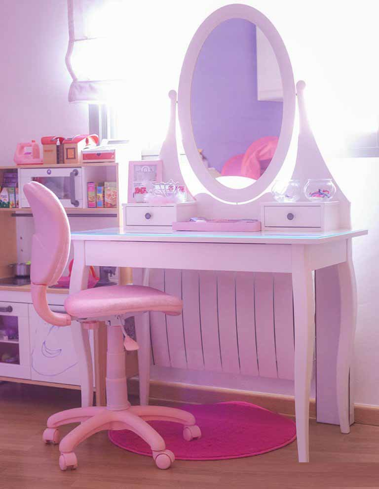 Best Lovely Girl S Dressing Table Design Ideas For Kid S Bedroom With Pictures