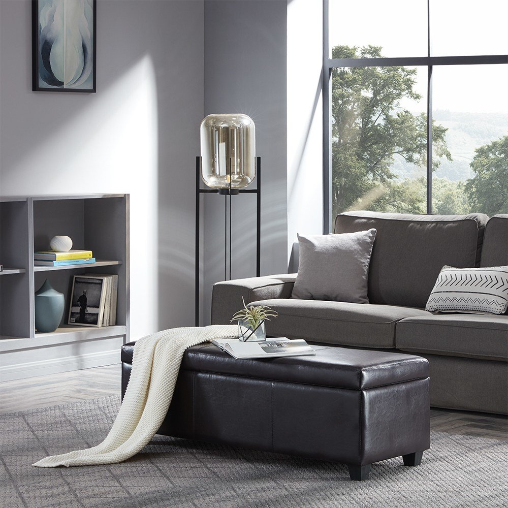 Best Contemporary Modern Faux Leather Bedroom Rectangular With Pictures
