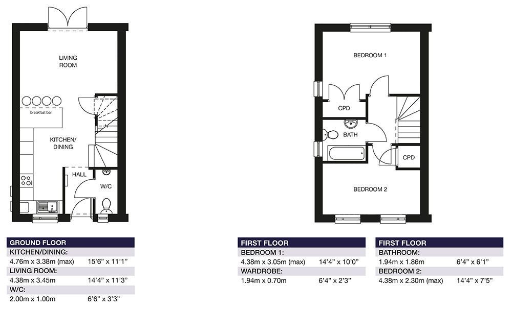 Best 2 Bedroom Houses For Sale In Plymouth Your Move With Pictures