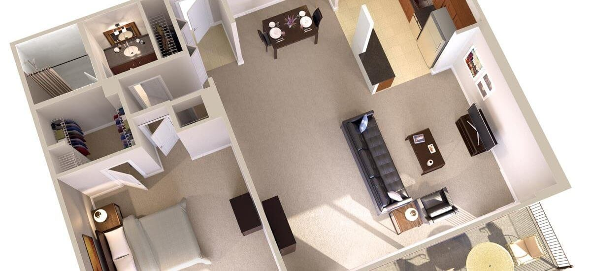 Best One Bedroom Apartments With Balcony Topaz House With Pictures