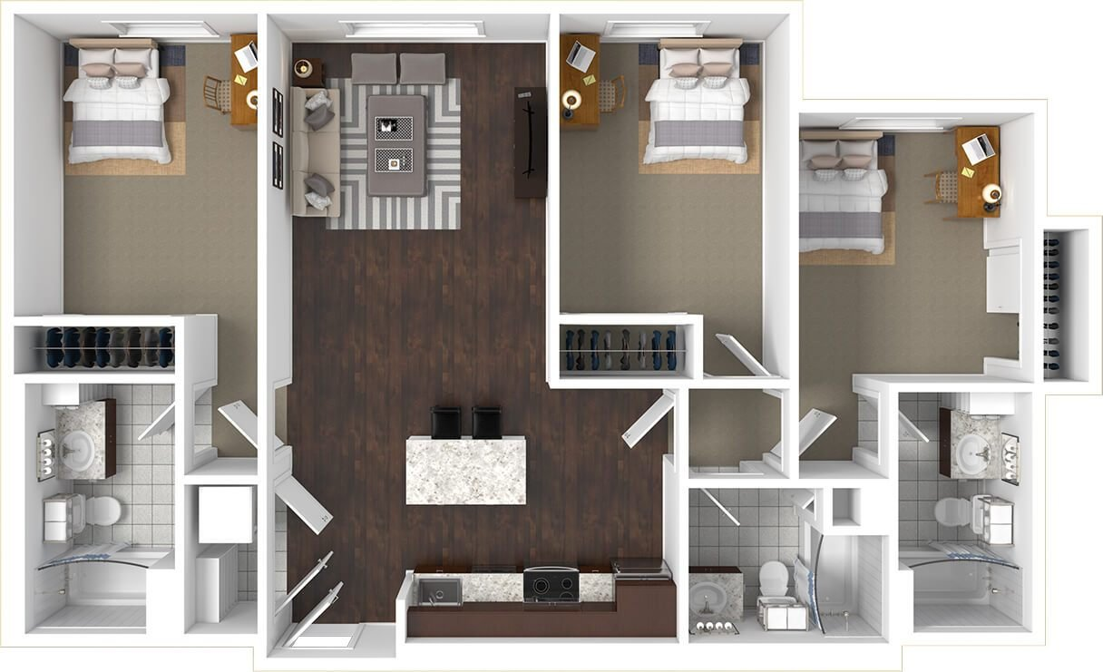 Best Floorplans The Cadence Tucson Studio 2 5 Bedroom Az With Pictures Original 1024 x 768