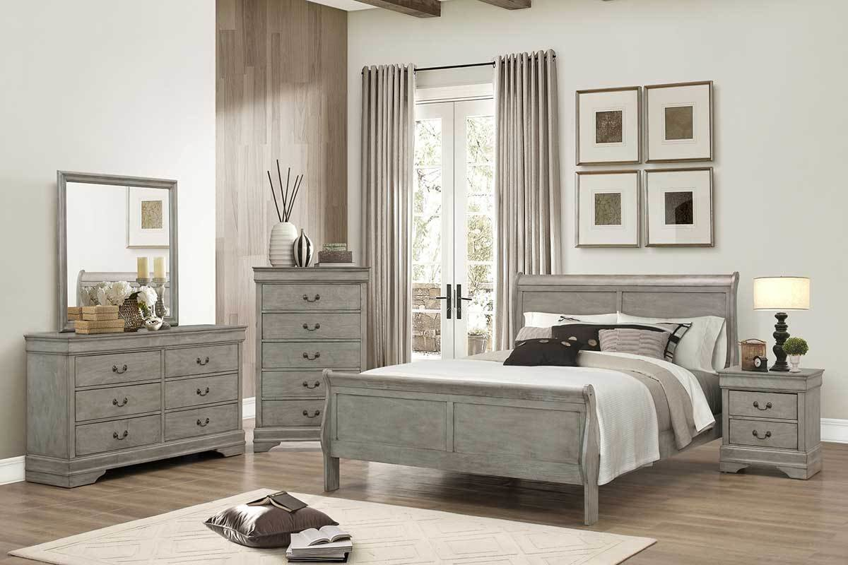 Best Gray Bedroom Set The Furniture Shack Discount With Pictures