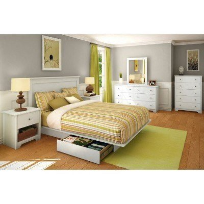 Best Pasadena Bedroom Collection White South Shore Target With Pictures