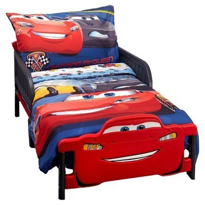Best Cars® Red Blue Bedding Set Toddler 4Pc Target With Pictures