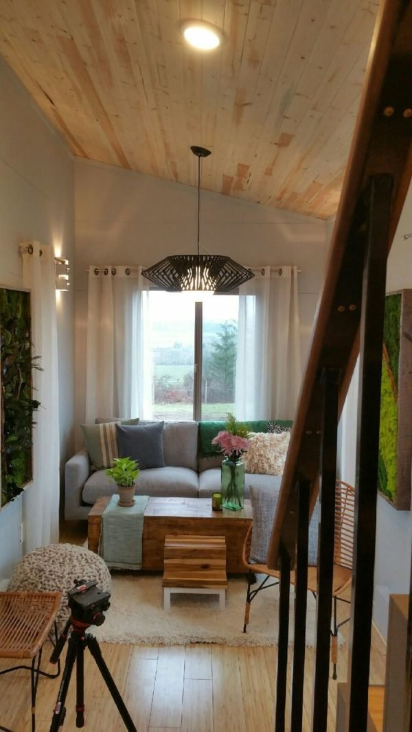 Best Two 24 Tiny Houses Connected By Sunroom With Pictures