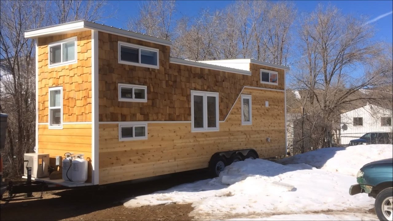 Best 28 Tiny House On Wheels Built For A Family Of Four With Pictures