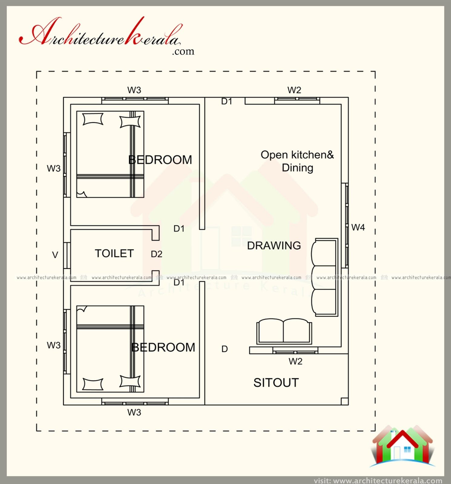 Best 500 Square Feet House Plan With Elevation Architecture With Pictures