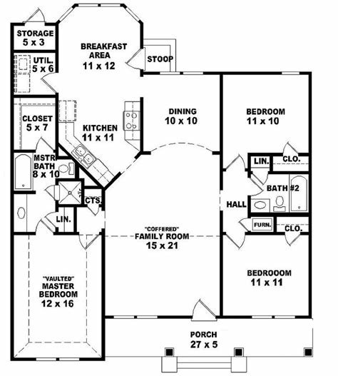 Best 3 Best Home Plans 3 Bedroom 2 Bath Homeplansme With Pictures
