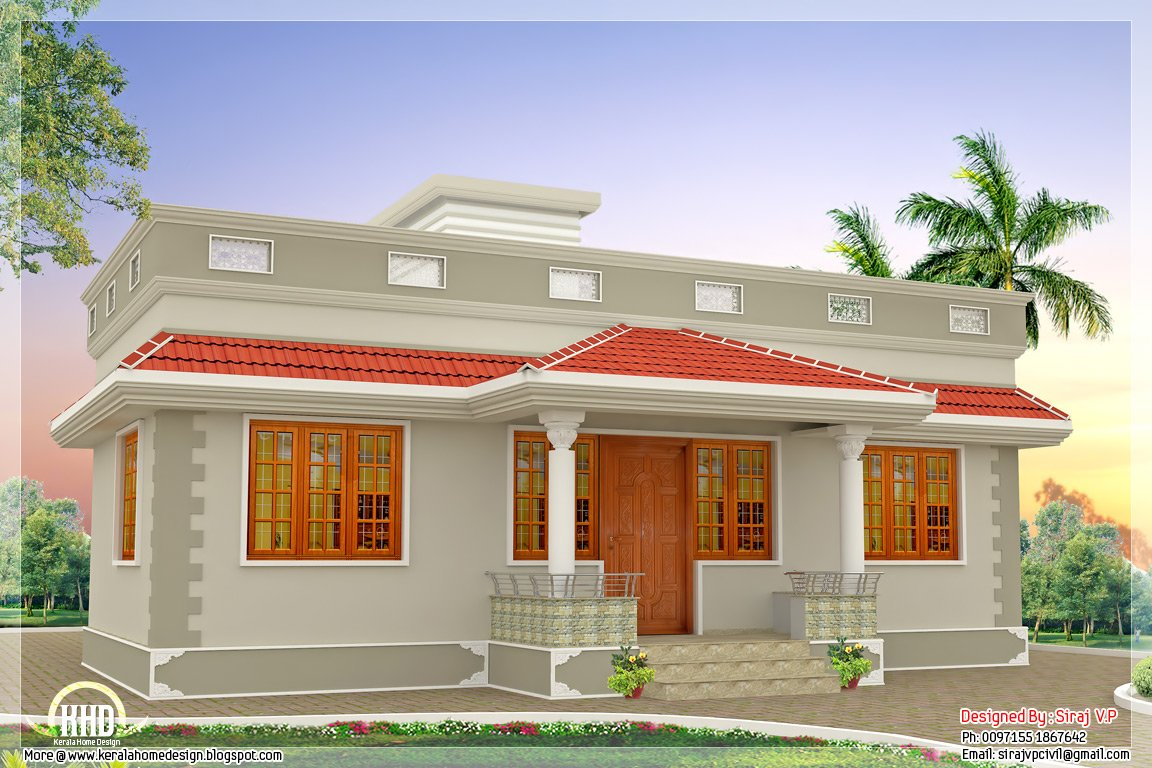 Best 1000 Sq Feet Kerala Style Single Floor 3 Bedroom Home With Pictures