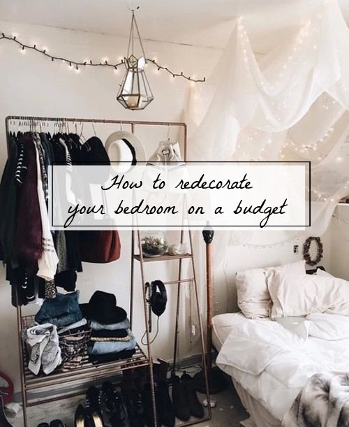 Best How To Redecorate Your Bedroom On A Budget Raellarina With Pictures
