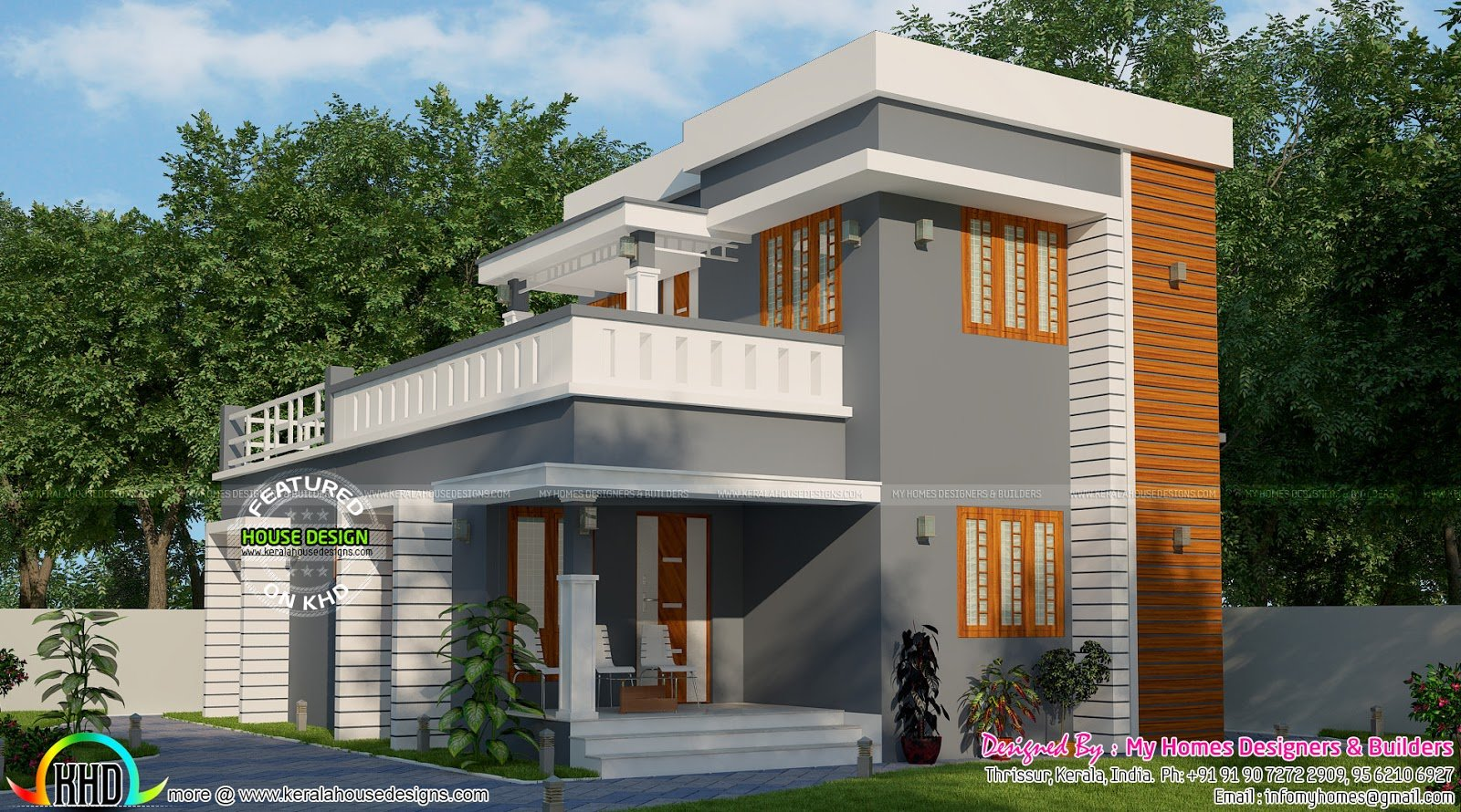 Best Simple Low Budget 3 Bedroom House Kerala Home Design With Pictures