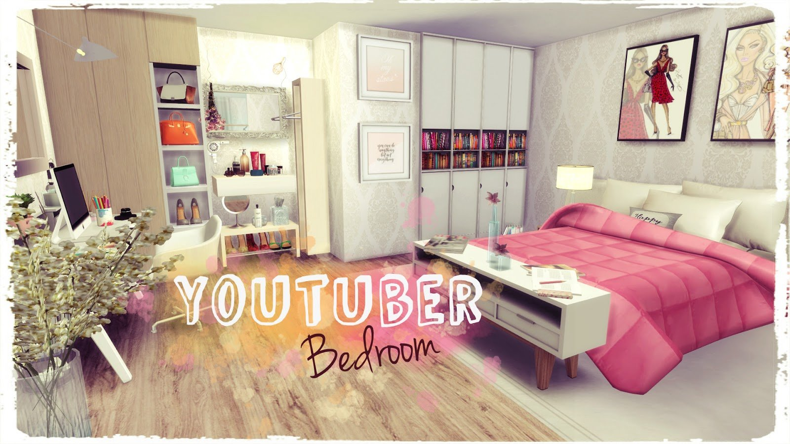 Best Sims 4 Youtuber Bedroom Dinha With Pictures